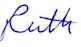 ruth-signature -one name small